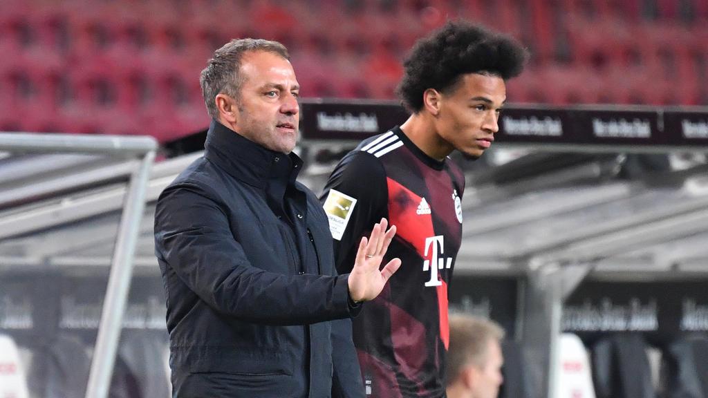 FC Bayern | Nationalmannschaft: Kehrtwende? Hansi Flick hat wohl Sané-Entscheidung getroffen