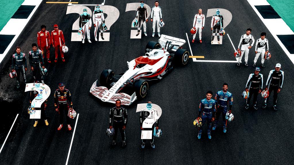 So könnte das Fahrerfeld der Formel 1 2022 aussehen
